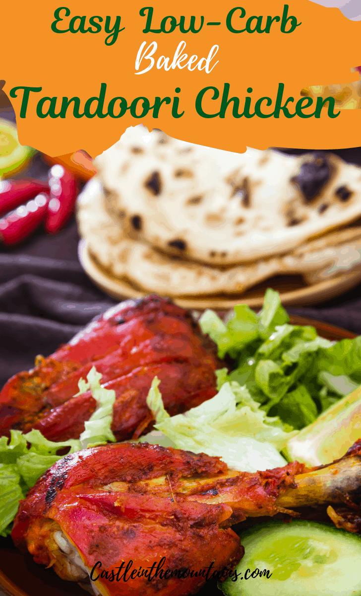 Tandoori Chicken (Baked)