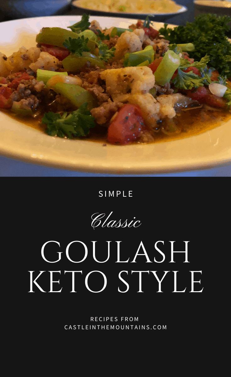 Classic Keto Goulash