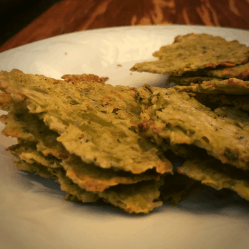 Keto Avocado Crisps recipe Low Carb Gluten Free