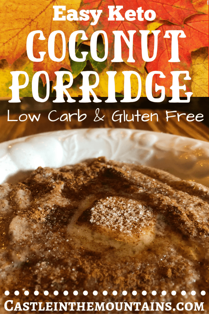 Easy Keto Coconut Porridge