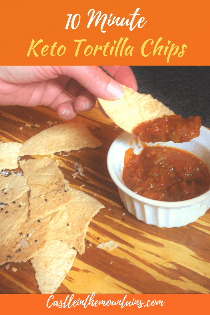 Guilt-free Low Carb Tortilla Chips - How to make Keto Tortilla Chips