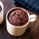 Low Carb Chocolate & Coconut Mug Cake