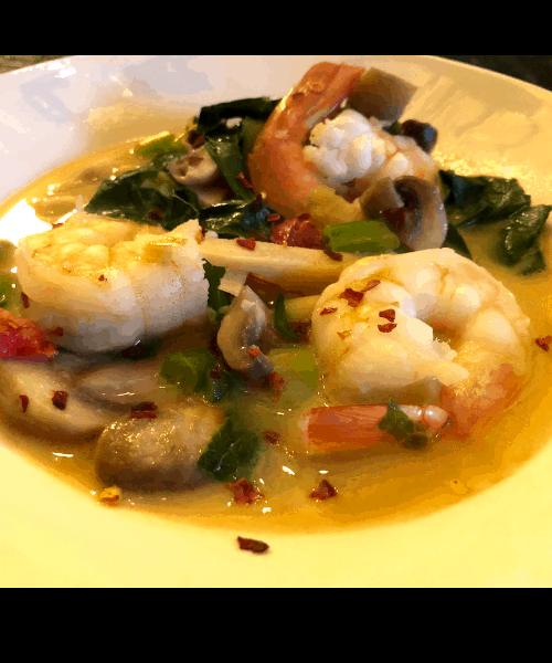 Low carb Shrimp Soup