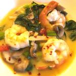 Spicy Thai Shrimp Soup