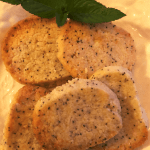 Keto Lemon Poppy Seed Shortbread Cookies