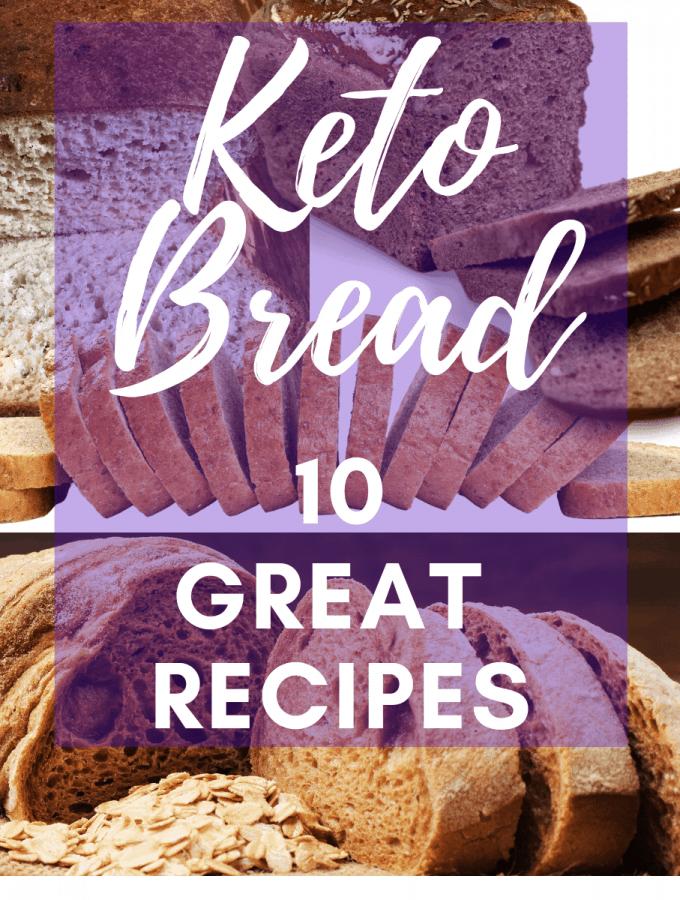 10 Low Crab Bread Recipes Keto & Gluten free