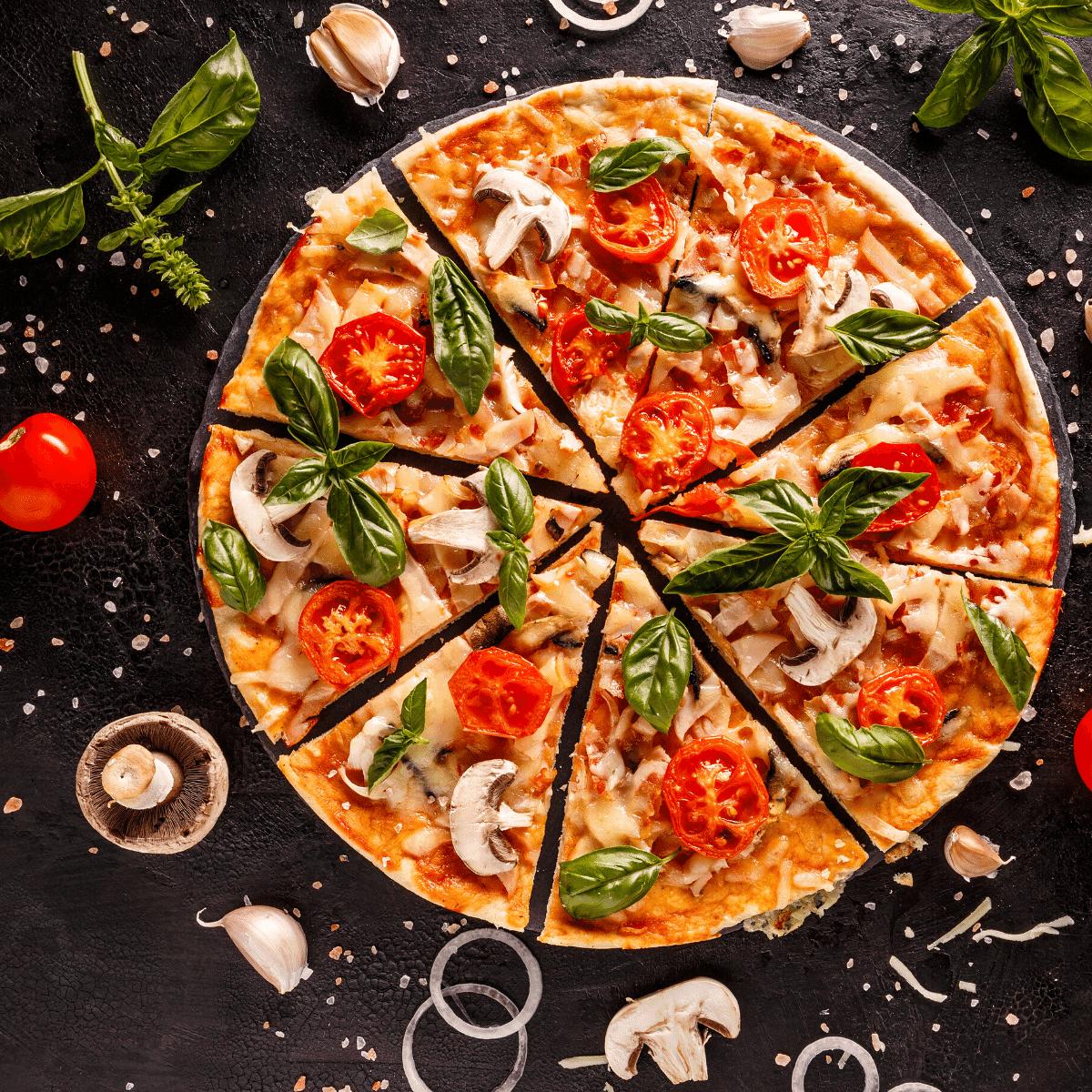 Easy Keto Pizza Crust