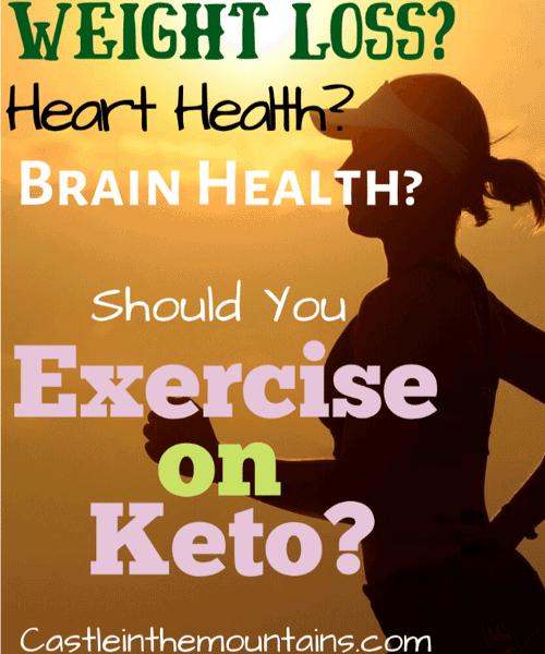 Exercise on Keto running