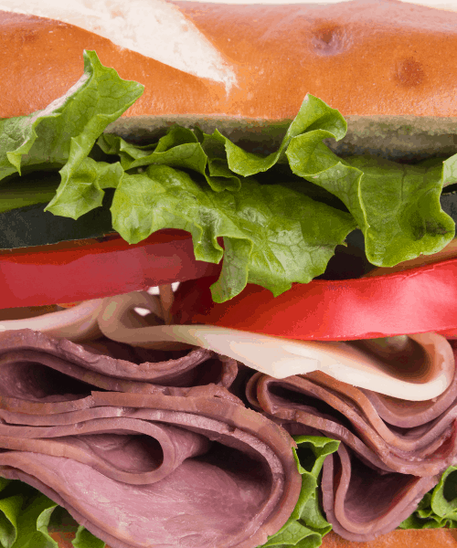 How to order low carb 101 (sandwich)