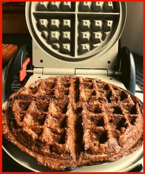 Keto Chocolate Chaffle Waffle Maker
