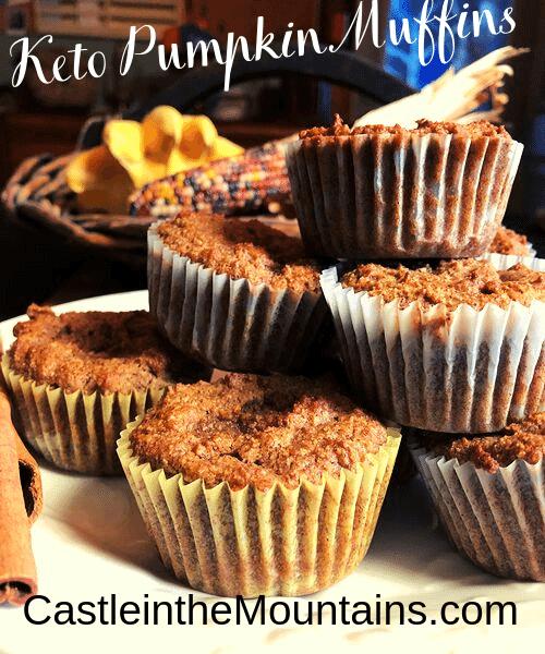 Keto Pumpkin Muffins Pumpkin- Spice