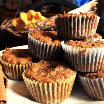 Keto Pumpkin Muffins recipe gluten free low carb