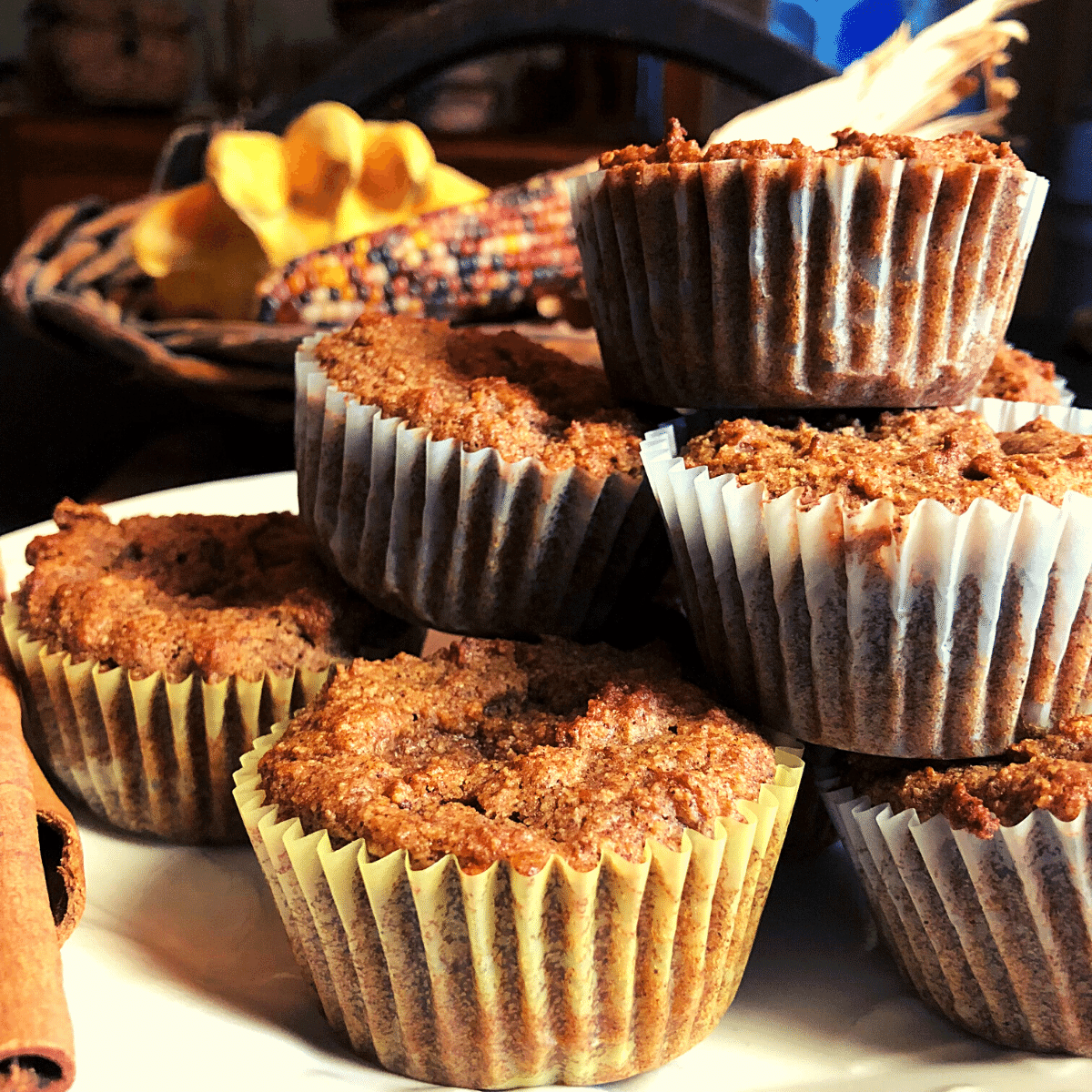 Keto Pumpkin Muffins recipe gluten free low carb