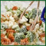 11 Great keto Sides FittoServe Broccoli Cauliflower Amish Salad