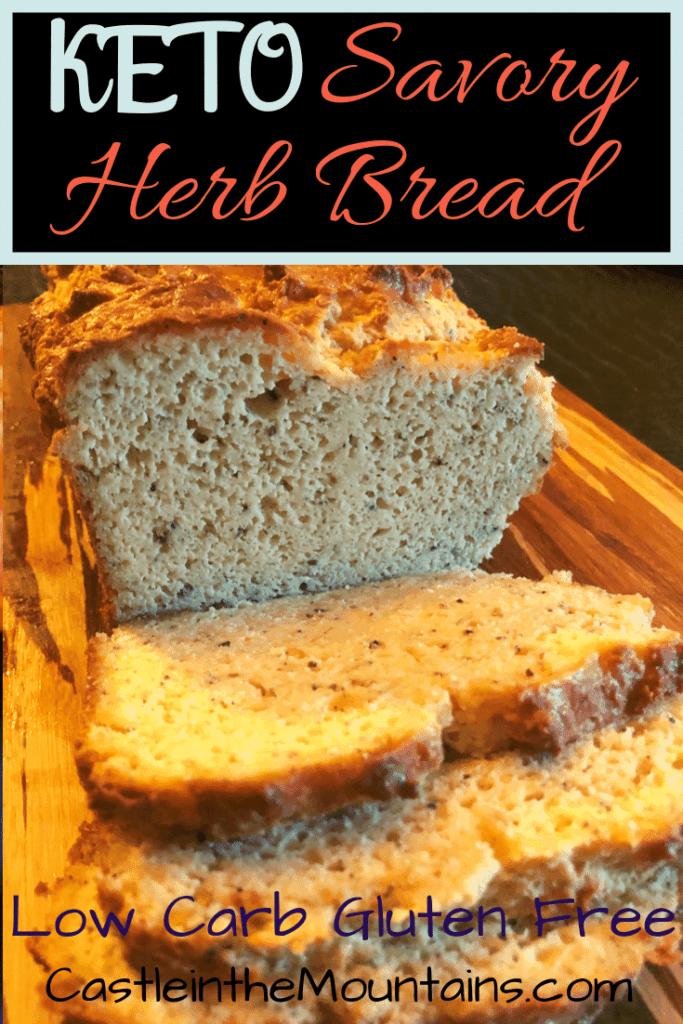 Delicious Keto Herb Bread recipe