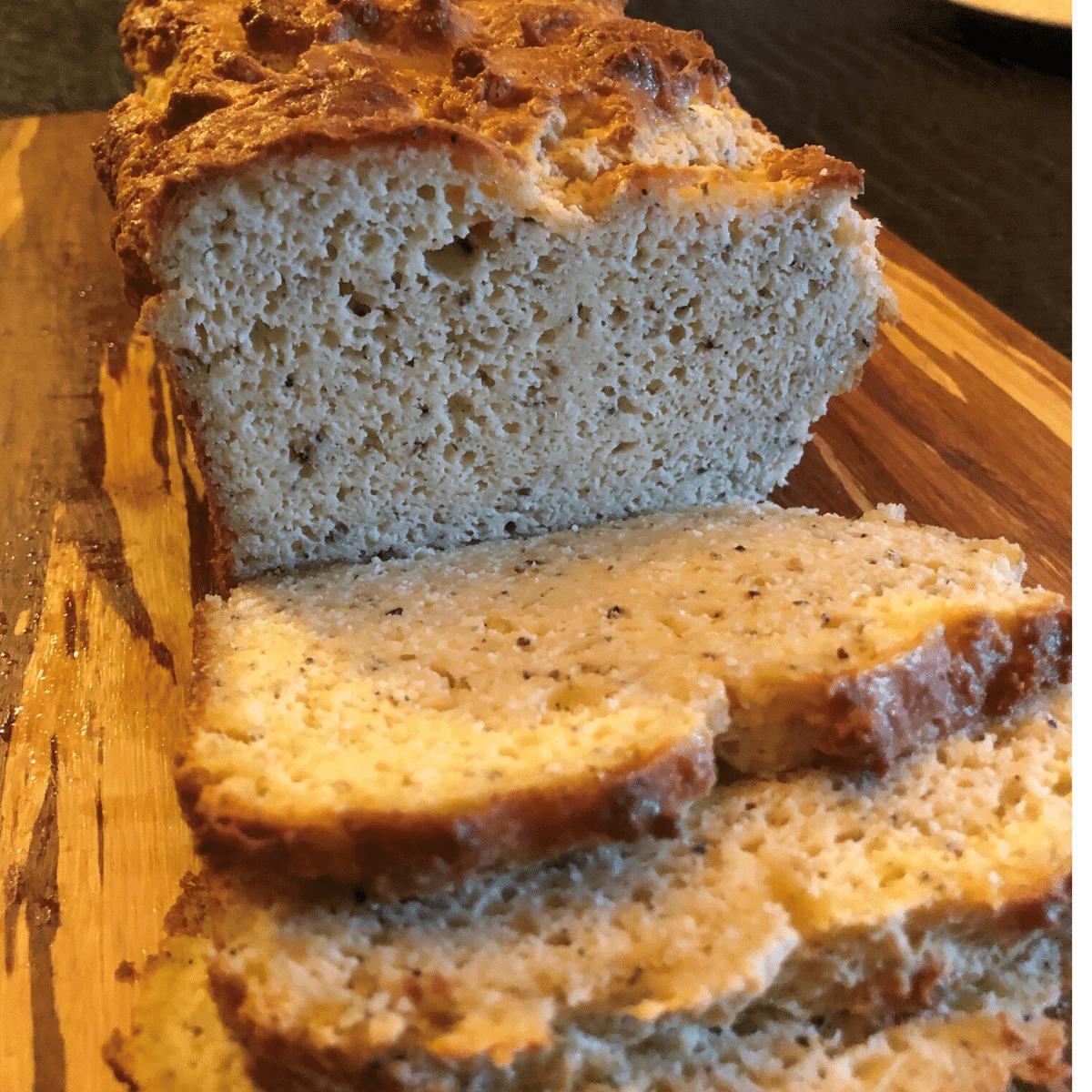 Delicious Keto Herb Bread - Low carb - Gluten Free