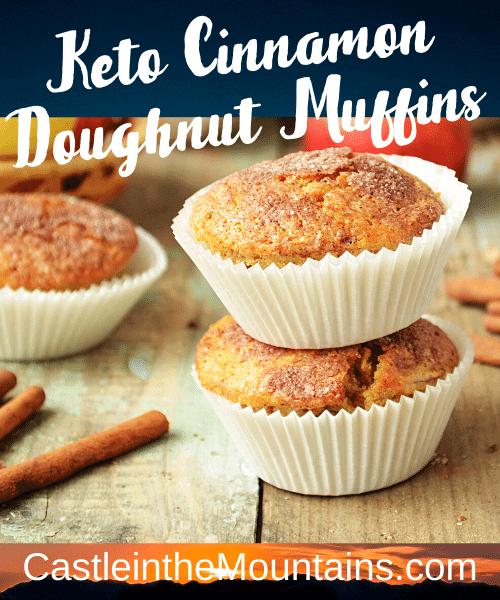Keto Cinnamon Donut Muffins 1