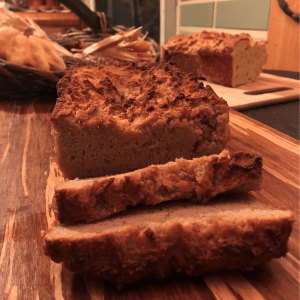 Awesome Keto Pumpkin Bread recipe, gluten free low carb