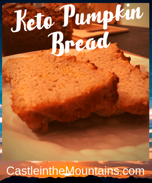 Keto Pumpkin Bread best Ever