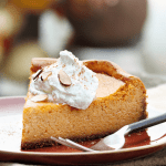 Keto Pumpkin Cheesecake