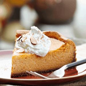 Keto Pumpkin Cheesecake recipe gluten free low carb