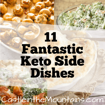 11 Great Keto Sides recipes low carb weight loss