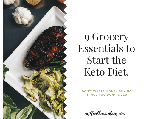 9 Keto Groceries you Need