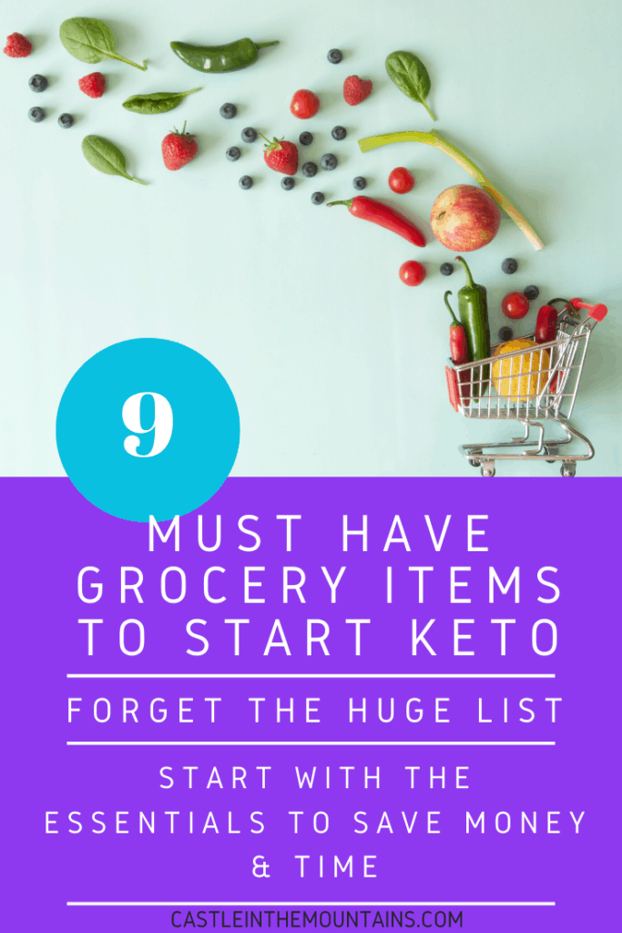 9 must have keto groceries