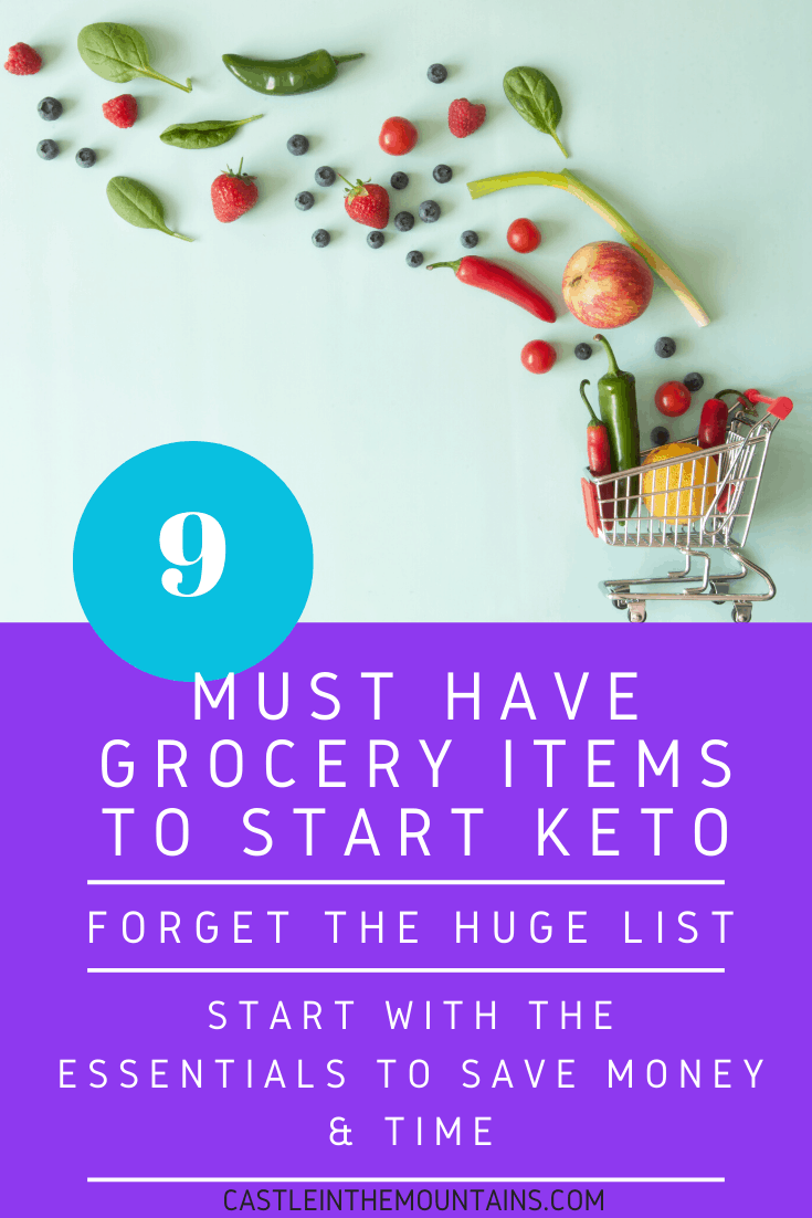 9 Grocery Items that Make Keto Easier