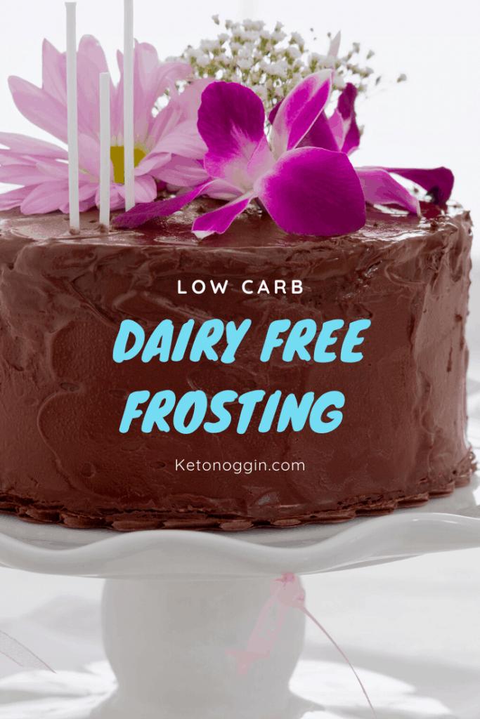 Dairy Free Keto Frosting
