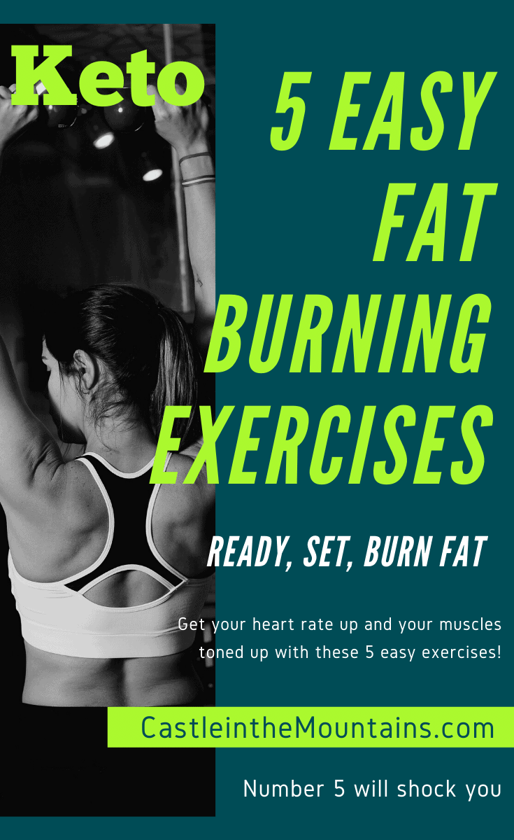 5 Easy Fat Burning Exercises that You Can Start Today