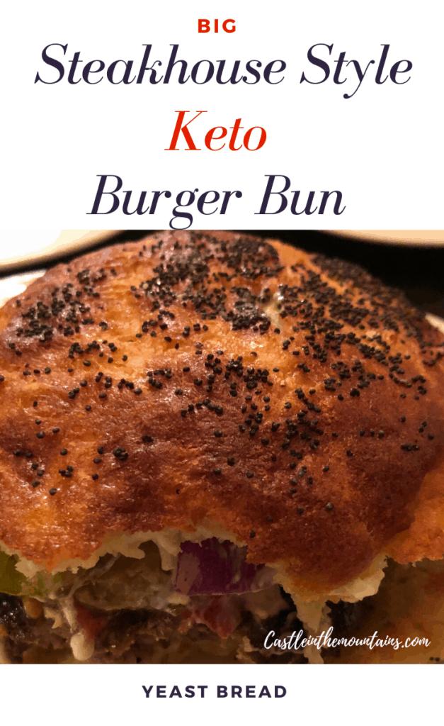 Big Keto Steakhouse Burger Bun