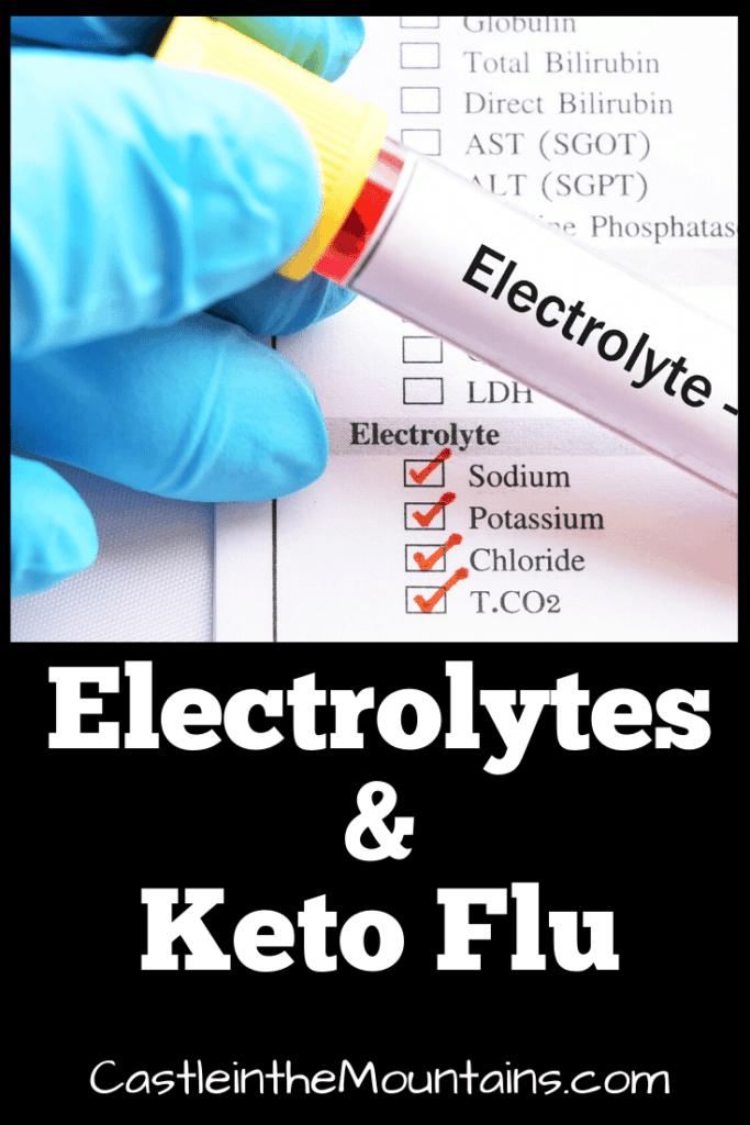 Electrolytes Keto Flu Keto Supplements