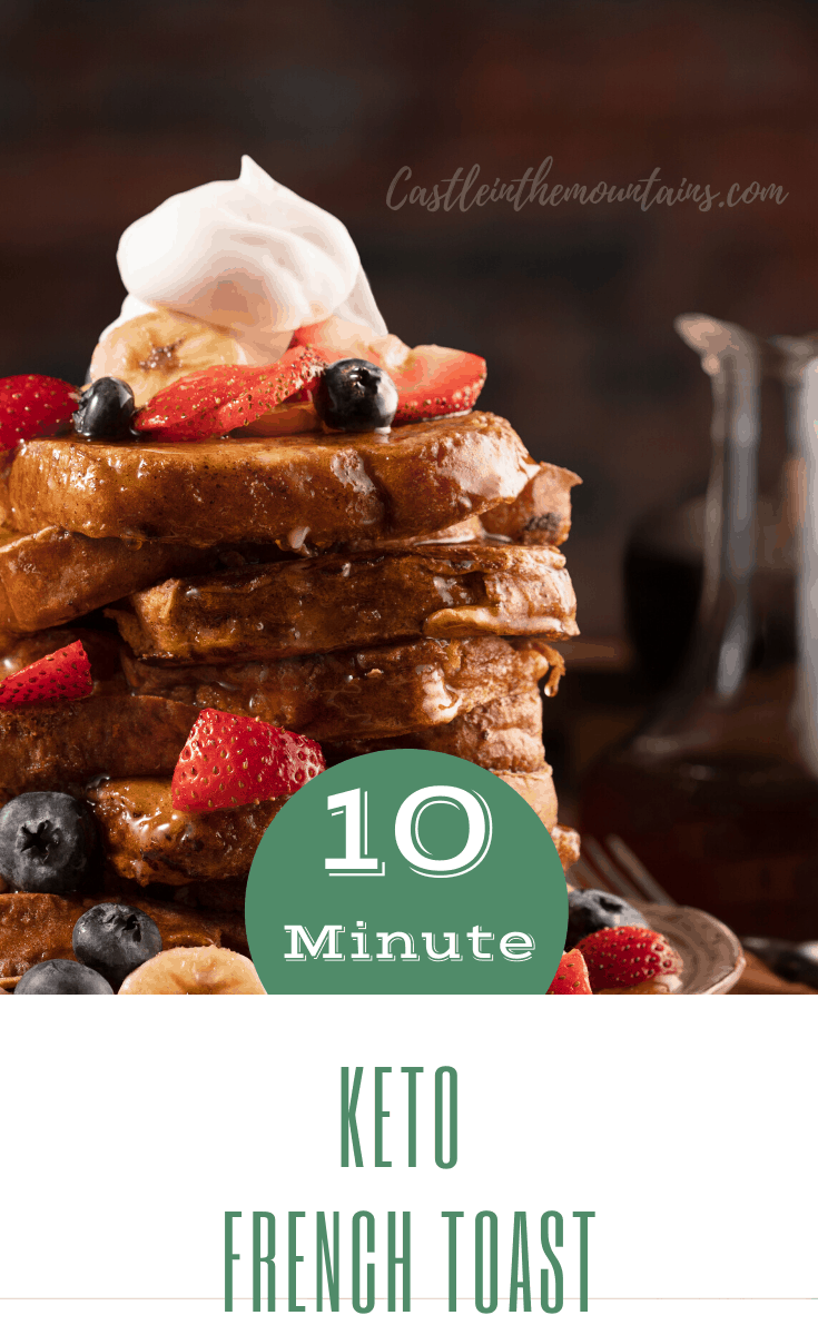 Keto French Toast for Two
