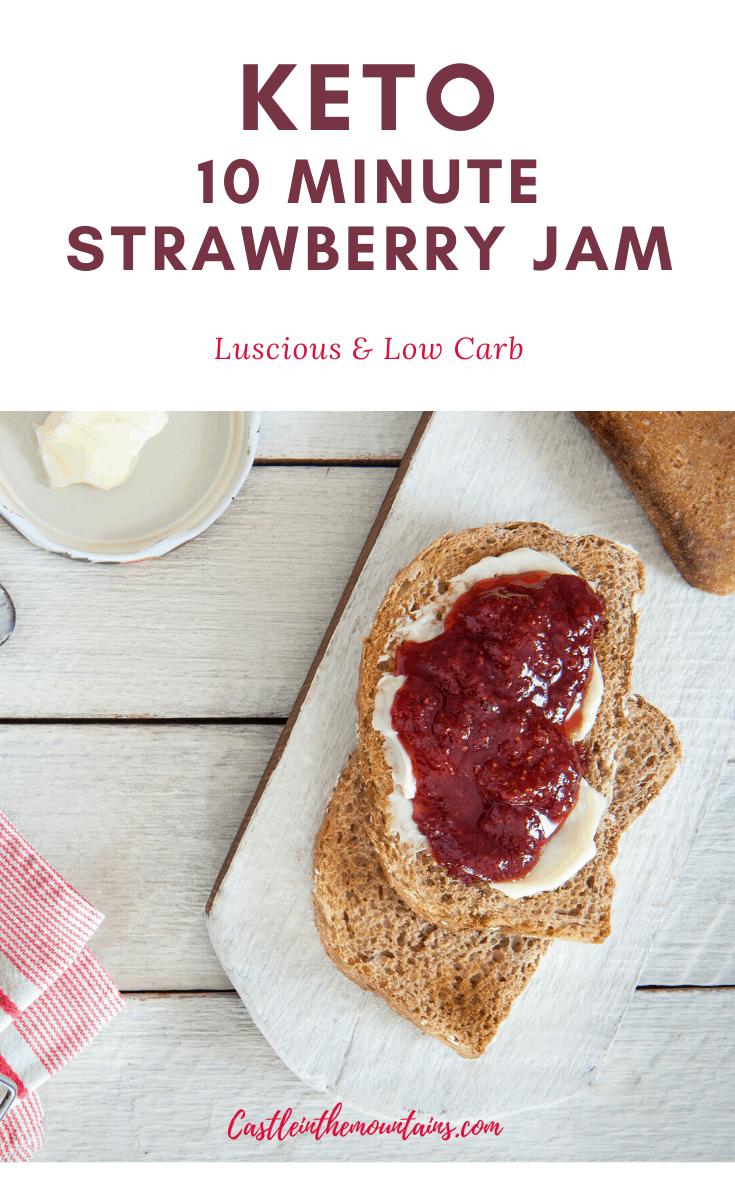 Low-Carb Strawberry Jam