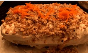 Keto Carrot Cake Banana Bread finished