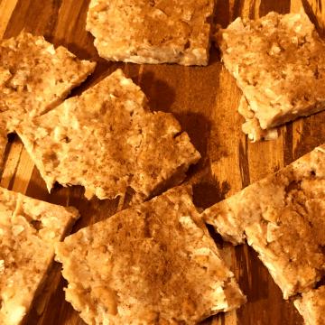 Keto Cashew Coconut Bars recipe