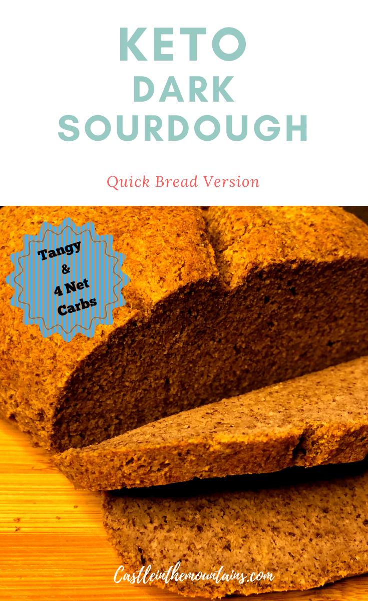Quick Low Carb Sourdough Bread