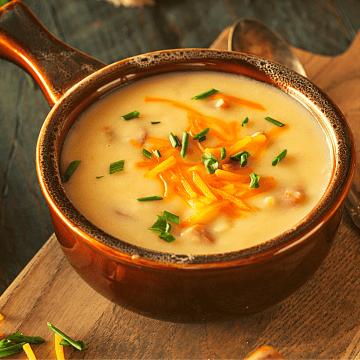 Sausage & cheddar low carb soup recipe gluten free