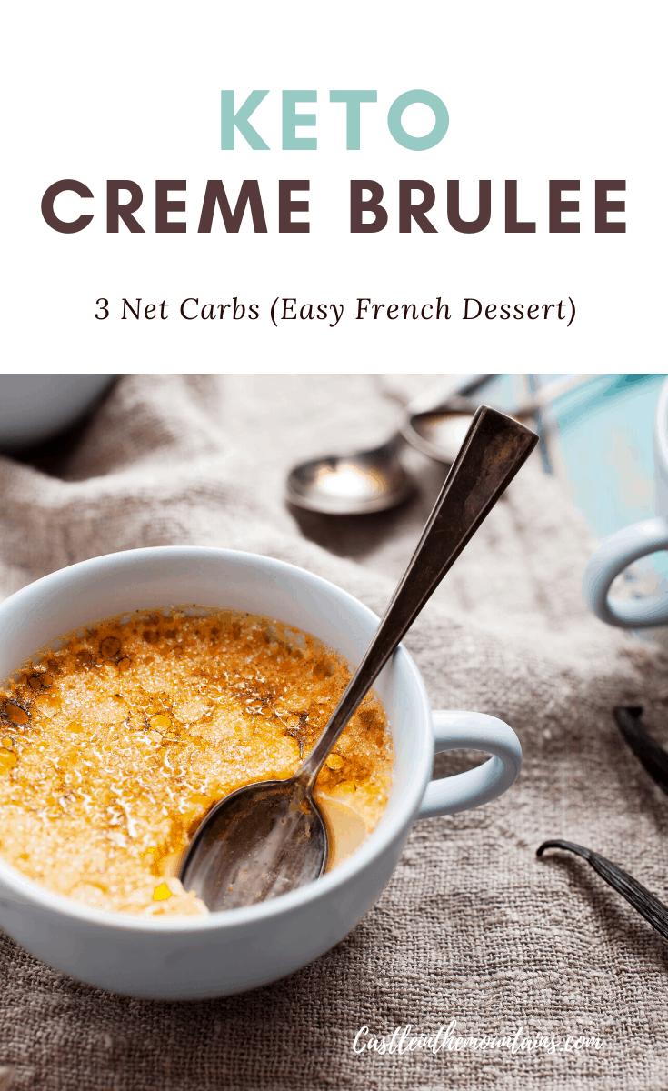 Sugar Free Creme Brulee