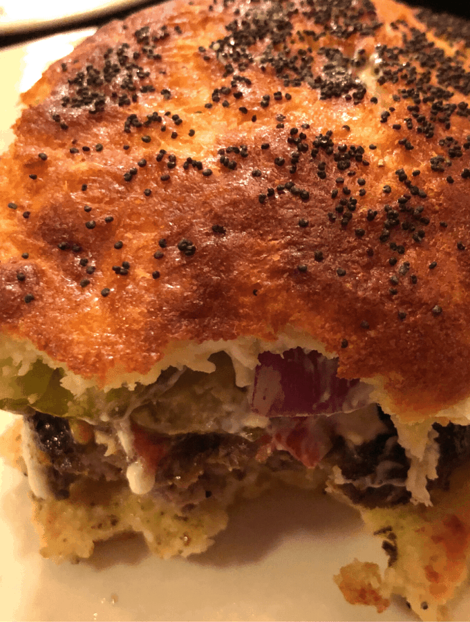 Superb Keto Steakhouse Burger Buns recipe - low carb & gluten free