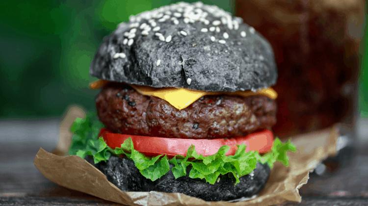 Keto Black Burger Buns small