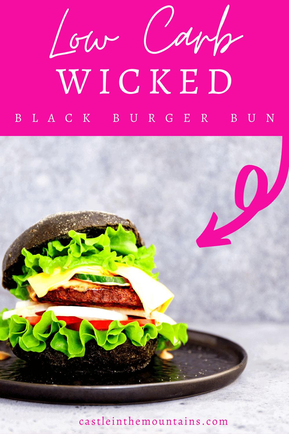 Wicked Black Burger Buns - How to make Sophisticated Buns.