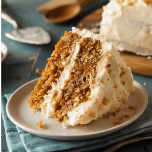 Keto Carrot Cake Recipe - low carb - gluten free
