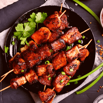 Keto Chinese Take-Out BBQ Pork recipe gluten free low carb