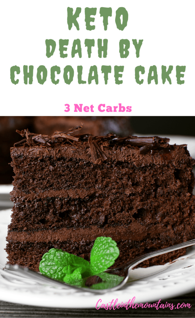 Keto Death by Chocolate Cake FB