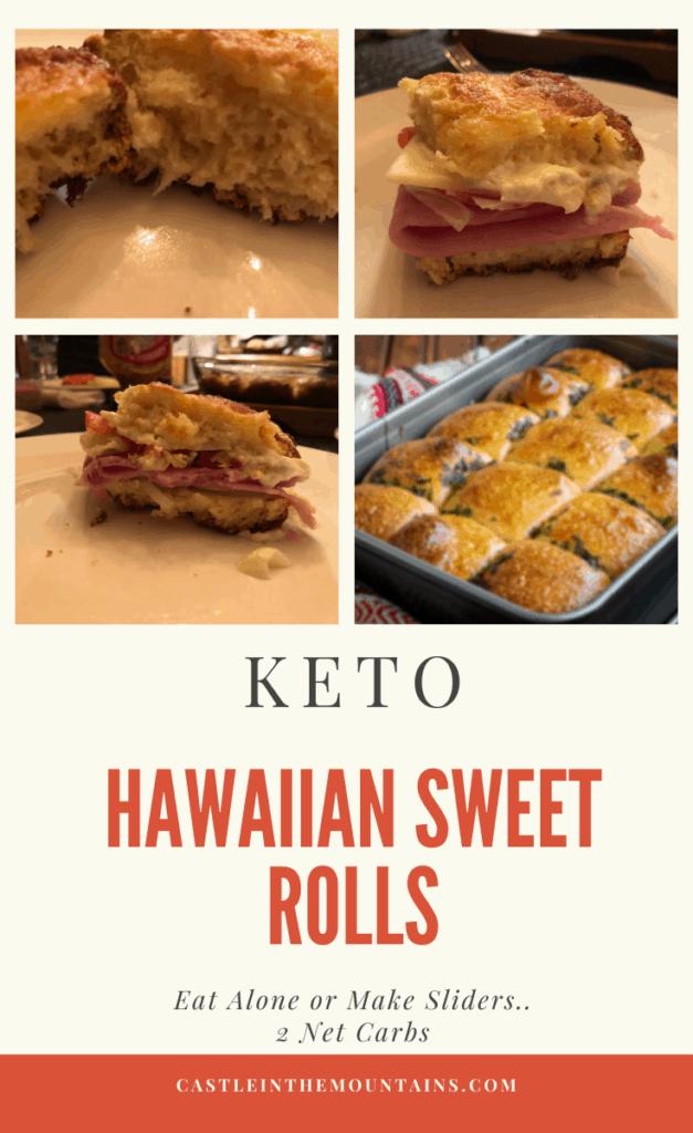 Low Carb Hawaiian Rolls Pin