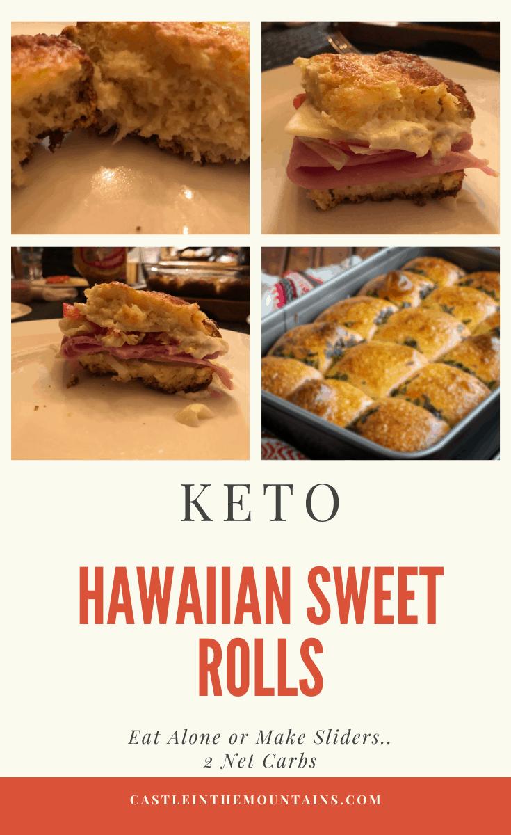 Low Carb Hawaiian Rolls