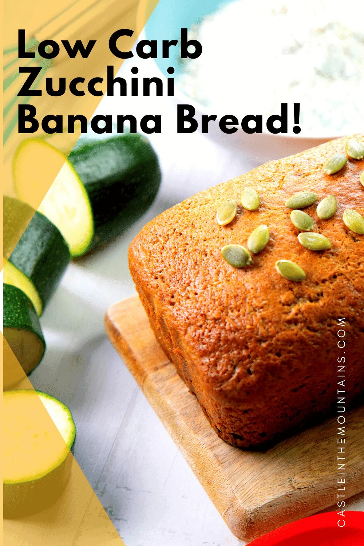 Keto Zucchini Banana Bread - The best of both worlds!