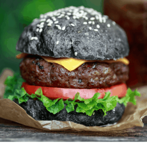 Wicked Keto Black Burger Buns Recipe~ Sophisticated Flavors - gluten free - low carb - lchf